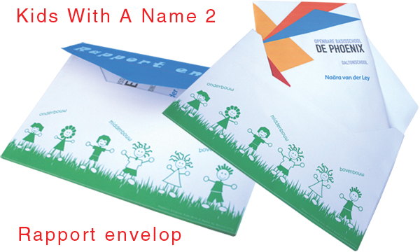 Rapport Envelop serie Kids With A Name 2.